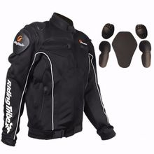 US $136.98 Free shipping 1pcs Men's Moto Motorcycle Racing Motocross Jacket Protective Gears Clothing with 5pcs pads. Aliexpress product