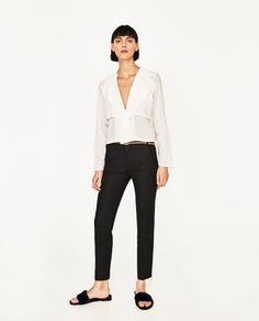 ZARA - WOMAN - TROUSERS WITH BELT