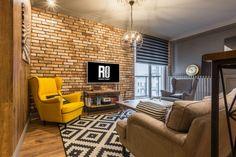 10 Amazing Egg Yolk Yellow-The New Accent Color Apartment Interior, Apartment Design, Living Room Designs, Living Room Decor, Colourful Living Room, Bohemian Bedroom Decor, Studio Living, Home Decor Furniture, House Design