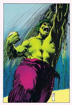 Hulk by Bill Sienkiewicz