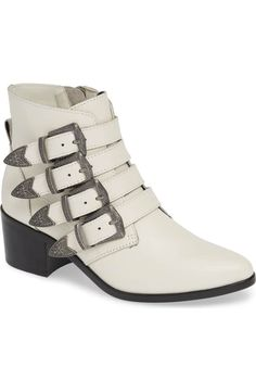 022a64336f5 Steve Madden Billey Buckle Bootie (Women)