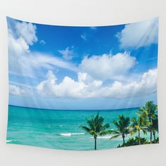 This Decorative Palm trees Wall Tapestry (photo was taken in Miami, Florida) is perfect for a beach cottage or coastal theme home decor. This is wonderful unique ocean and beach gift! Also it is easy and affordable way to create your happy place and it looks amazing! Dont forget - you can personalized it, just let me know! 🌊 Available in 6 sizes: - Small with grommets: 26x36 - Medium with grommets: 50x59 - Large with grommets: 59x80 - Small (no grommets): 51 x 60 - Medium (no grommets): 68…