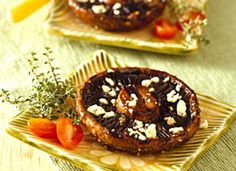 Grilled Portabella Mushrooms with Herbs