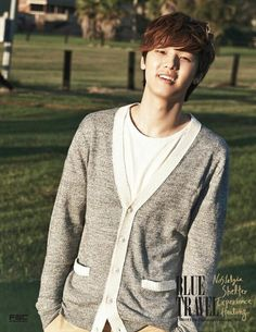 Min-hyuk in Blue Travel Kang Min Hyuk, Lee Jong Hyun, Korean Celebrities, Korean Actors, Celebs, Jung Yong Hwa, Lee Jung, Asian Boys, Asian Men