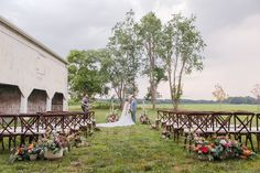 Looking for a creative canvas to have your wedding? Check out Updike Farmstead Weddings -the perfect rustic canvas for your Princeton Wedding! White Barn, Rustic White, Outdoor Ceremony, Wedding Ceremony, Rustic Wedding, Portrait Photography, Destination Wedding, Dolores Park, Bentwood Chairs