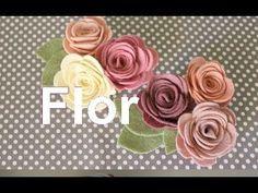 How To Make a Pretty Felt Flower Headband - DIY Style Tutorial - Guidecentral - YouTube