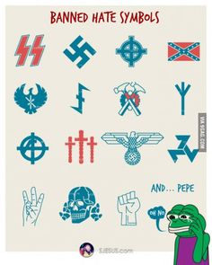 It's official boys, pepe is a Nazi Just For Fun
