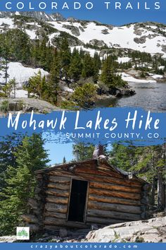 Mohawk Lakes Trail is one of Colorado's best day hikes. Starting at 10,390' elevation and reaching 12,000' this hike has it all. Alpine lakes, old cabins, creek crossings, summer wildflowers, a stupendous waterfall and unimaginable views. Canada Travel, Travel Usa, Travel Tips, Best Hiking Gear, Hiking Tips, Colorado Hiking, Colorado Lakes, Kayak Camping, Camping Hammock
