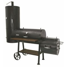 bayou classic vertical smoker grill with firebox