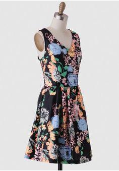 Garden Shadows Floral Dress | Modern Vintage Occasion | Modern Vintage Dresses | Modern Vintage Clothing | Ruche