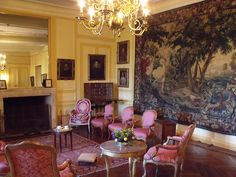 inside the Chateau at Villandry French Interior Design, French Interiors, Chambord Castle, Loire Valley France, Francis I, Formal Gardens, French Chateau, Decoration, Beautiful Homes