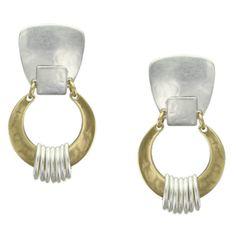 Interlocked Horseshoe Rings