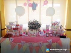 Comuniones en el Hotel del Golf Playa Castellón. Buffet Dulce / Cady bar
