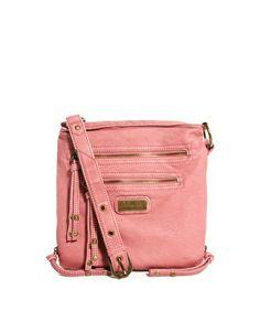 Enlarge River Island Pink Mini Messenger Bag