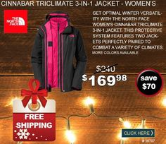 The North Face Cinnabar Triclimate 3-in-1 Jacket - Women's