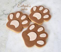 Estrade's cakes: galletas de huellas.