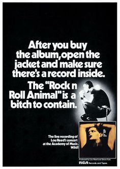 Dangerous Minds | More Lou Reed bootlegs than you can shake a stick at