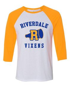 Riverdale vixen t shirt - clothzee Baseball Tee Shirts, Cheer Shirts, Baseball Jerseys, Sports Jerseys, Sport T Shirts, Clemson Football, Riverdale Halloween Costumes, Riverdale Shirts, Riverdale Fashion