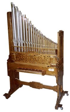 Medieval style Pipe Organ designed for tiny churches