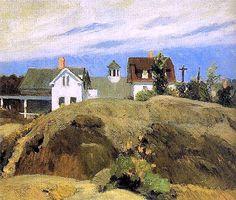 Edward Hopper, Rocks and Houses, Ogunquit 1914