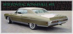 1970 Pontiac Bonneville Hardtop Coupe