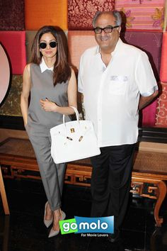 Sridevi & Boney Kapoor at Padmini Kolhapure's 'Padmasitaa' fashion showcase at Hotel JW Marriott in Juhu, Mumbai