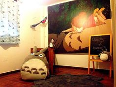 La habitación de Mar #totoro