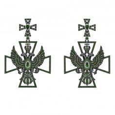 Axenoff Jewellery » Earrings «Mr Karenine»