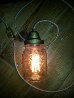 Lampada antique edison bulb di LavorareConLeMani su Etsy
