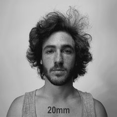 They say that the camera adds 10 pounds and as crazy as it sounds... it's true! This awesome GIF illustrates how different lenses change the the look of a subject's face.