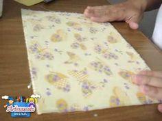 Como estampar o EVA com tecido
