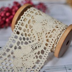 crochet lace - love it!
