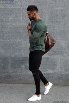 Everything minus the skinny jeans Mode Chic, Mode Style, Men's Style, Fashion Mode, Mens Fashion, Fashion Outfits, Moda Blog, Look Man, Super Skinny Jeans