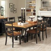 Found it at Wayfair - 7 Piece Fixed Top Dining Table Set