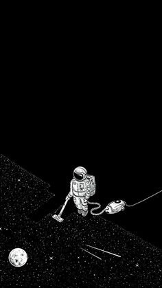 # - Space and Astronomy Tumblr Wallpaper, Black Wallpaper, Cool Wallpaper, Wallpaper Backgrounds, Iphone Wallpaper, Wallpaper Space, Mobile Wallpaper, Wallpapers Tumblr, Astronaut Wallpaper