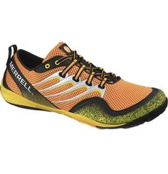Merrell's Men's Barefoot Trail Glove!  My experience with going barefoot is that it is best for varied activities on uneven surfaces such as trail running and outdoor fitness, but it still just makes sense to protect your feet!  Merrell shoes are legendary for their toughness and foot health.