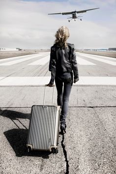 Carsten Witte originally shared:   Up up and away... #carstenwitte #escape #rimowa #airport #runway