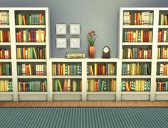 Mod The Sims - Moderate and Subordinate Intellect Bookcases