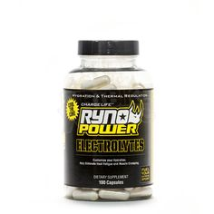 Ryno Power Electrolytes Supplement Capsules