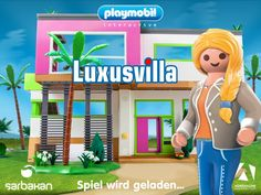 Playmobil Luxusvilla - Gratis Kinderspiel App für iOS, Android, Kindle Fire