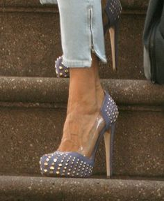 Periwinkle studded shoes. http://www.starstyleinc.com/brian-atwood-loca-studded-pumps-in-beige-pic32498.jpg