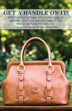 Dooney and Bourke: Top Handles