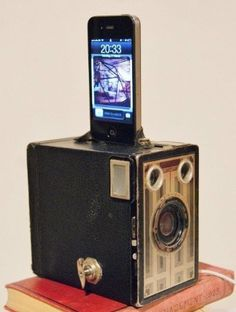 (14) The Brownie Camera was the beginning of a concept that would become the foundation for what we know now as social media -- giving people the ability to chronicle their lives and share them with others. Through making the everyday individual the photographer, these cameras were able to more authentically capture history, emotion, and the spirit of the 21st century. Image: Etsy.com