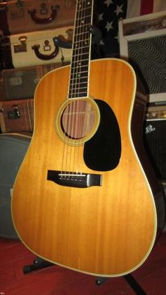 1973 Martin D-35 Acoustic Music, Acoustic Guitars, Martin Guitars, Vintage Guitars, Paradise, Electric, Lord, Retro, Products