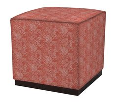 Twain Ottoman in Floral Rosettes, featured on Guildery