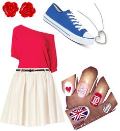 """my one direction outfit:)❤"" by ajflymax ❤ liked on Polyvore"