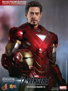 Iron Man 2/The Avengers Mark VI 1/6 scale figure by Hot Toys.