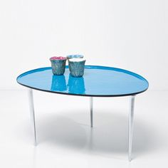 Egg Coffee Table Blue now featured on Fab.