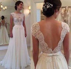 Long Prom Dress, Sexy Prom Dress, Backless Prom Dress, White Prom Dress, Bridesmaid Dress