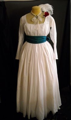 Chemise Gown 18th Century Dress